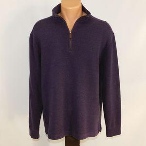 Polo Ralph Lauren 1/4 zip sweater.  M